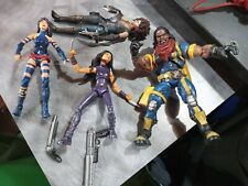 Marvel Legends Lot,bishop,phylocke,x23,domino