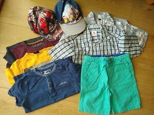 Boys Summer Clothes Bundle Ages 6-7 8 items