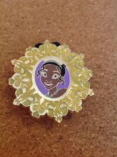 Disney Pin Mystery Holiday Christmas Princess Snowflake - Tiana