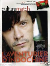 Coupure de Presse Clipping 2010 (3 pages) Indochine Nicola Sirkis