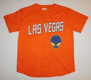 New NWOT LAS VEGAS 51s #51 Aviators Orange Alien SGA Baseball JERSEY Men's XL