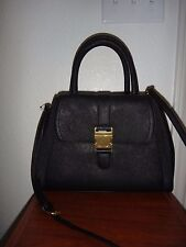 CALVIN KLEIN~Women's Black Saffiano Leather Tote Satchel Purse Hand Shoulder Bag