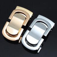 Horseshoe Belt Buckle Classic Metal Buckle Automatic Belt Buckle 3.5CM Belt Clip