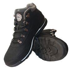 Mens New Camel Black Soft Light Weight Causal Wear Walking Hiking Winter Boots