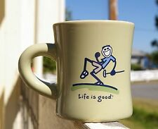 Life is Good Green Golf Golfer Coffee Mug Cup Do What You Like Like What You Do