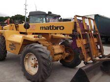 Matbro TS270 TS280 Loader Workshop Manual Printed