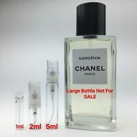 Chanel Les Exclusifs GARDENIA Eau De Parfum - SAMPLE 1ml 2ml 5ml Perfume