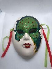 "Ceramic Mask Wall Decor 6""."