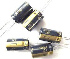 2200uf 10v 105c basso ESR Taglia 12.5mmx20mm Panasonic EEUFC 1a222 x5pcs