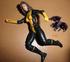 MARVEL UNIVERSE x-men KITTY PRYDE + LOCKHEED toy FIGURE 017 avengers hasbro