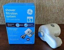 GE Shower Filtration System GXSM01HWW Reduces Sediment and Chlorine NIB