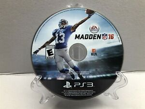 Madden NFL 16 (Sony PlayStation 3, 2015) Clean & Tested Working - Free Ship