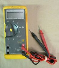 Fluke 77 Series II Digital Multimeter W/ Leads FREE SHIPPING!!