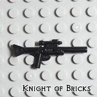 LEGO Minifigure PEARL DARK GRAY Star Wars Weapon Gun Blaster Small Rifle