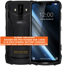 """DOOGEE S90 Pro Resistente 6gb 128gb Impermeable 16mp Cara Dni 6.18"""" Android LTE"""