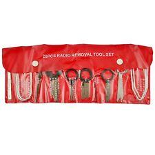 Car Radio Removal Key Tool Set Stereo Head Unit Audio Tools CD 20pc