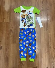 GAP BABY BOY DISNEY TOY STORY PJ SLEEP SET pajamas NWT 2T 3T N7