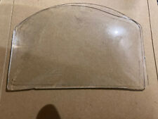 More details for antique clock glass unusual shape probably rare shaped spares or repairs
