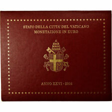 [#735622] Vaticaan, 1 Cent to 2 Euro, Jean-Paul II, 2004, FDC, n.v.t.
