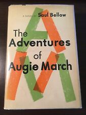 The Adventures of Augie March - Saul Bellow (SIGNED, First Edition/Printing)