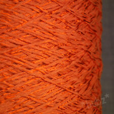 STUNNING SILKY SOFT COTTON VISCOSE 4 PLY YARN BIG 1,000g CONE SHINY KNIT CROCHET