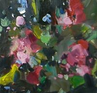 JOSE TRUJILLO OIL PAINTING Impressionism MODERN Floral FAUVISM - ABSTRACT 10x10