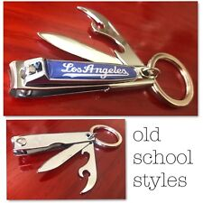 Brand New Packaged Los Angeles nail clippers with bottle opener knife filer