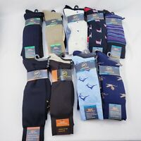Gold Toe Men Dress Casual Socks 3 Pack Designs Solid Multi-Colors New Size 6-12