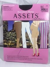 2a4270bbb26d9 NIP Marvelous Mama Assets Sara Blakely Perfect Maternity Pantyhose Size 2  Black