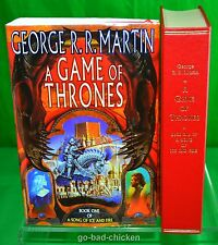 Signed A GAME OF THRONES George RR Martin FIRST EDITION 1996 Harper Collins U.K.