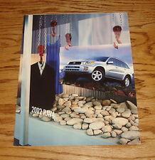 Original 2002 Toyota RAV4 Foldout Sales Brochure 02