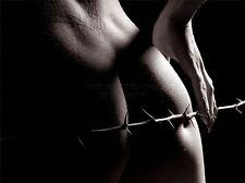 Art imprimé poster photo nude femme épineux pointu tige lfmp 1171