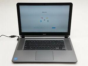 """Acer ChromeBook CB3-531-C4A5 15.6"""" HD Celeron N2830 2.16GHZ 2GB 16GB NO Battery"""