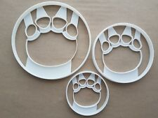 Elephant Foot Print Paw Shape Cookie Cutter Dough Biscuit Pastry Sharp