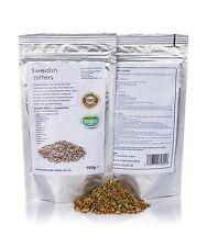 100g Swedish Bitter herbs dried loose•100% GMO Free•full tincture instruction•