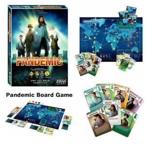 Pandemic Board Game 2013 Z-Man Games 2-4 Players Family Party Home Game Gift AU