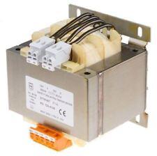 RS Pro 500VA Isolation Transformer, 15 â?? 400V ac Primary, 12V ac, 115V ac Seco