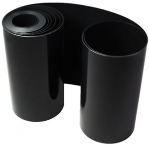 Wurzelsperre 2 mm Stärke - 60 cm Höhe - laufender Meter - Schwarz