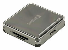 Konig Csu3acr100bl - Koenig All-in-one Memory Card Reader USB 3.0