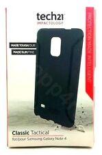 Tech21 Impactology Classic Tactical  Flex Case For Samsung Galaxy Note 4 Black