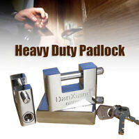 40mm~70mm Heavy Duty Anti Rust Shutter Padlock High Security Shackle Lock