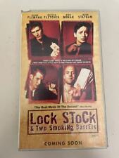 VHS: LOCK STOCK & TWO SMOKING BARRELS + DAD SAVAGE (TWO FILM IN ONE TAPE)