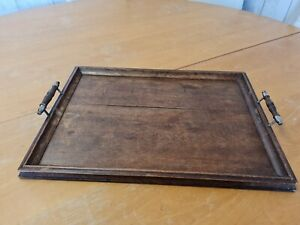 Antique Wooden Treen/Tray Butlers Serving. Stunning piece