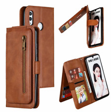 Flip PU Leather Zipper Purse Wallet Phone Case Cover For Xiaomi Redmi 10X 4G 5G