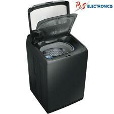 Samsung 13Kg Top Load DualWash Washing Machine, Black Stainless_WA13M8700GV