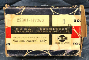 1978 datsun b210 nos nissan vacuum advance control