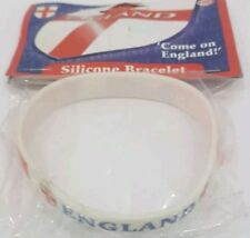 England world cup supporters Rubber silicon Wristbands football free uk p&p