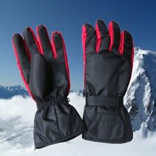 Electric Battery Heated Gloves Thermal Motorcycle Bike Scooter Winter Outdoor CA