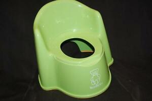 Baby Bjorn Training Chair Green High Back Needs Potty Replacement Pot