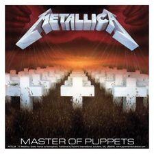 METALLICA - Master of Puppets Aufkleber Sticker - 9,5 x 9,5cm